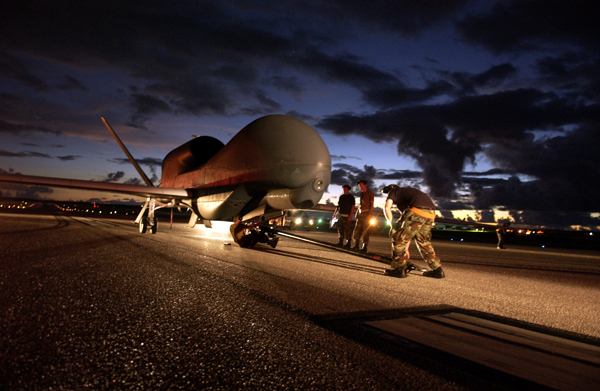 Beale Global Hawk deploys for first time